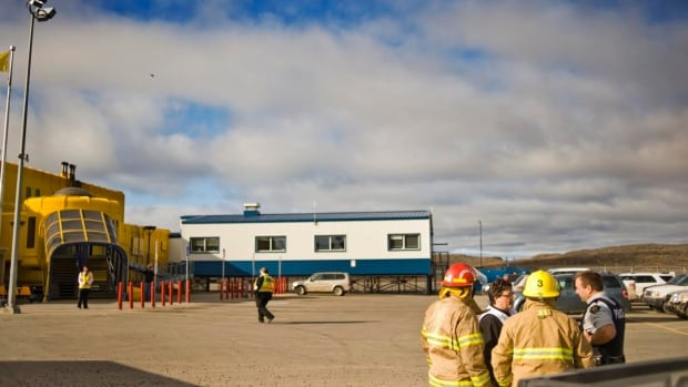 Iqaluit's airport emergency crews were called into action Thursday for a security drill.