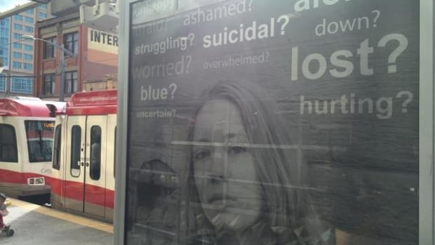 In September, Calgary Transit teamed up with local non-profit groups to launch a suicide prevention campaign.