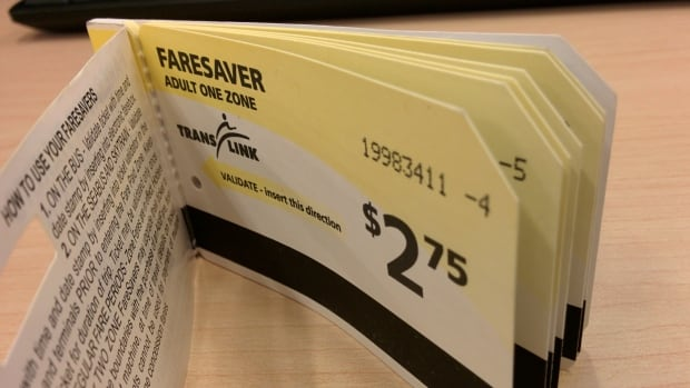 Sales of paper FareSaver tickets have ended, but TransLink says they'll still be accepted until fare gates close.