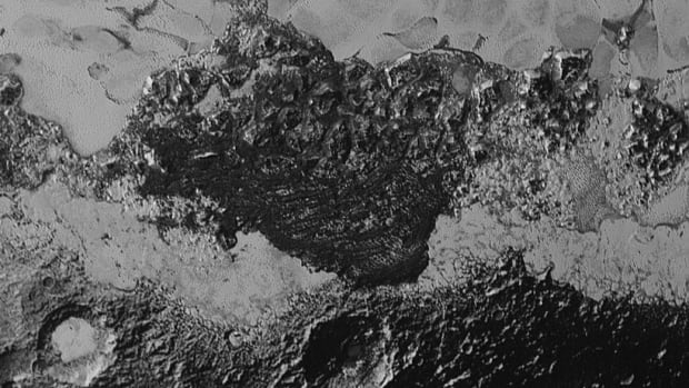 The New Horizons spacecraft came close enough to Pluto to capture high-resolution, detailed images like this one — far better than anything ever gathered before.