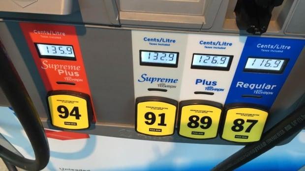 Hamilton Gas Prices >> Chevron premium fuel mix-up results in overcharging | CBC News