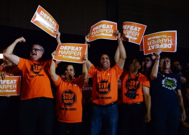 NDP rally in Edmonton