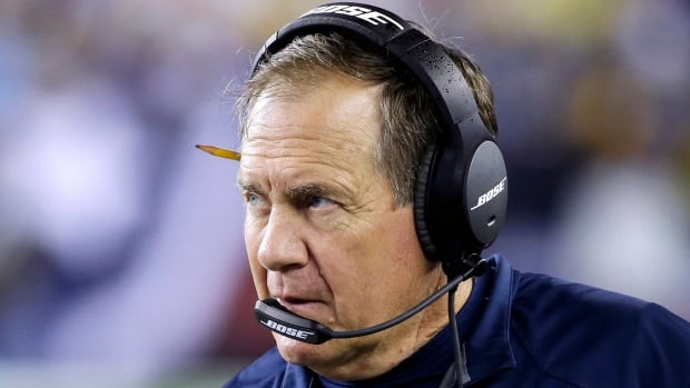 New England Patriots head coach Bill Belichick was typically tight-lipped with reporters about the condition of his left eye.