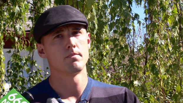 The city says Jesse Rau breached its code of conduct by telling false information to the media about his stance on a rainbow-coloured Calgary Transit bus.