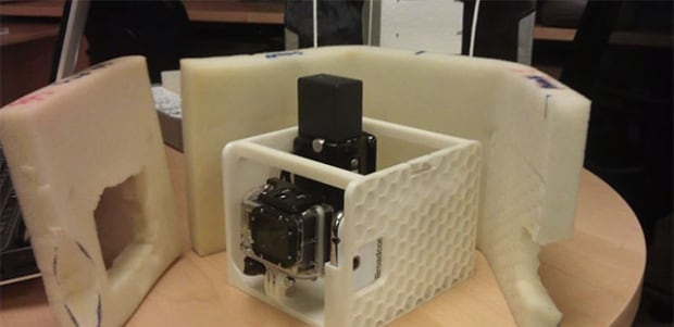 Camera from lost weather balloon