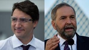 Trudeau-Mulcair