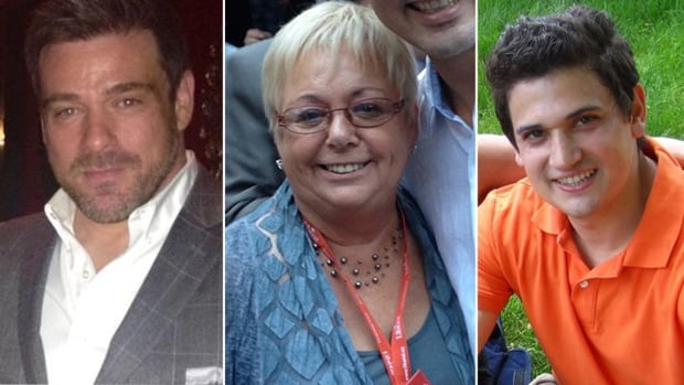From left: Conservative candidate Tim Dutaud, Liberal candidate Joy Davies and NDP candidate Morgan Wheeldon were all dropped by their parties after controversial remarks made by them on social media emerged.
