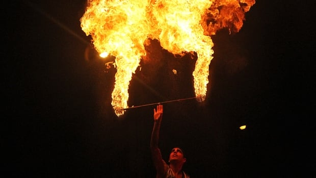 Circus Orange's fiery performance is set to once again light up the sky at Supercrawl 2017.