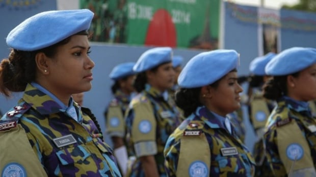 Canada's peacekeeping proposal will include addressing critical gaps at the UN, including increasing the number of women involved in deployments and conflict resolution.