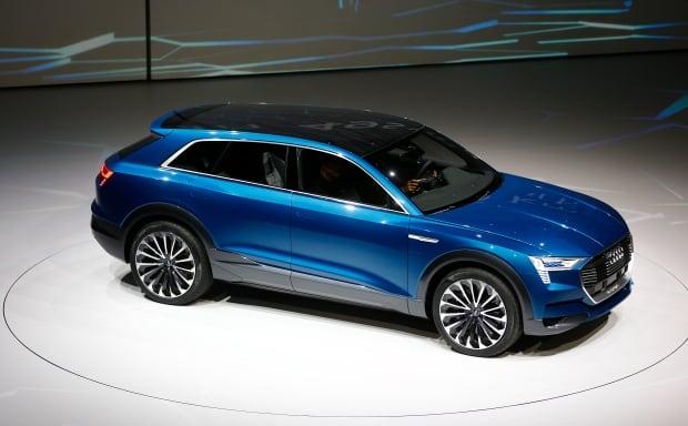 FRANKFURT AUTOSHOW-Audi e-tron Quattro Sept 14 2015