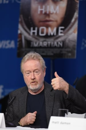 "2015 TIFF - ""The Martian"" - Press Conference"