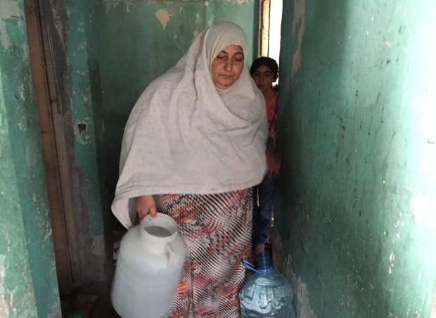 Wadat al-Moustafa and daughter Nour Abdoul