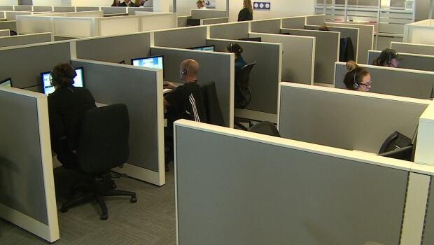Call centre in Saint John