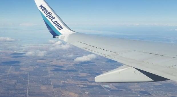 WestJet wing