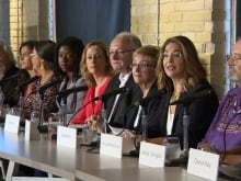 Naomi Klein says there is no political will, including from NDP Leader Tom Mulcair, to act on curbing carbon emissions and preventing the most disastrous consequences of climate change.
