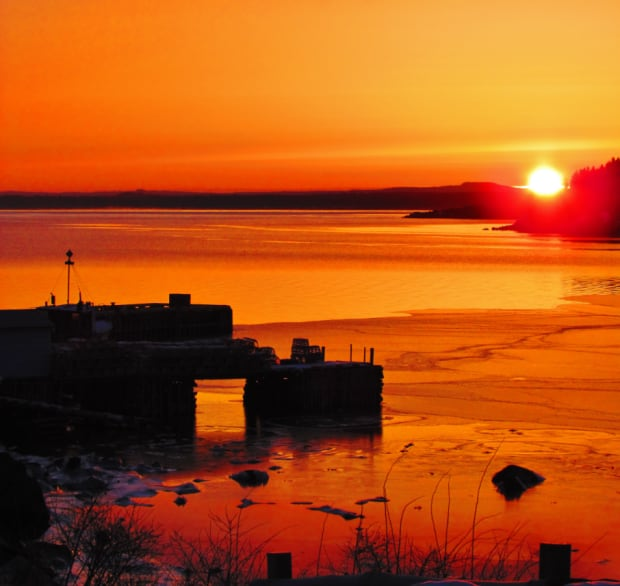 Comfort Cove-Newstead sunrise by Ronald O'Toole