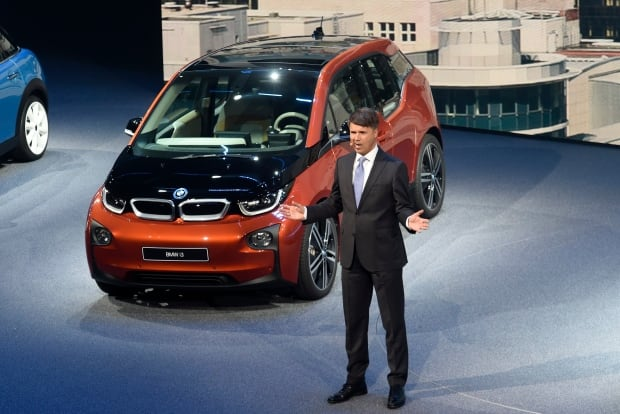 BMW electric car at Frankfurt Auto Show