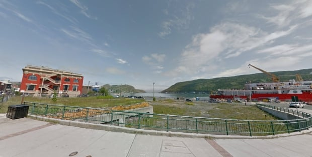 Future ALT hotel lot downtown St. John's prescott water street