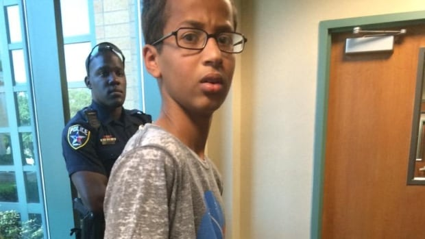 Texas teen Ahmed Mohamed was arrested and taken to juvenile detention Monday after teachers mistook the homemade electronic clock he had brought to school for a bomb.