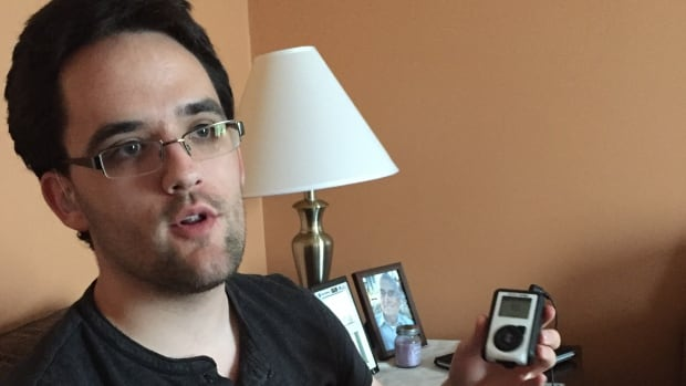 History major William Sears, who depends on an FM transmitter to hear instructors in the classroom, says he was surprised to hear history Prof. Ranee Panjabi's version of events in his accommodation complaint.
