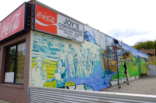 Joy's Convenience to showcase mural to honour refugees