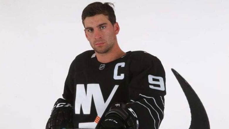 on sale be545 681b2 John Tavares models Islanders' new alternate jersey | CBC Sports