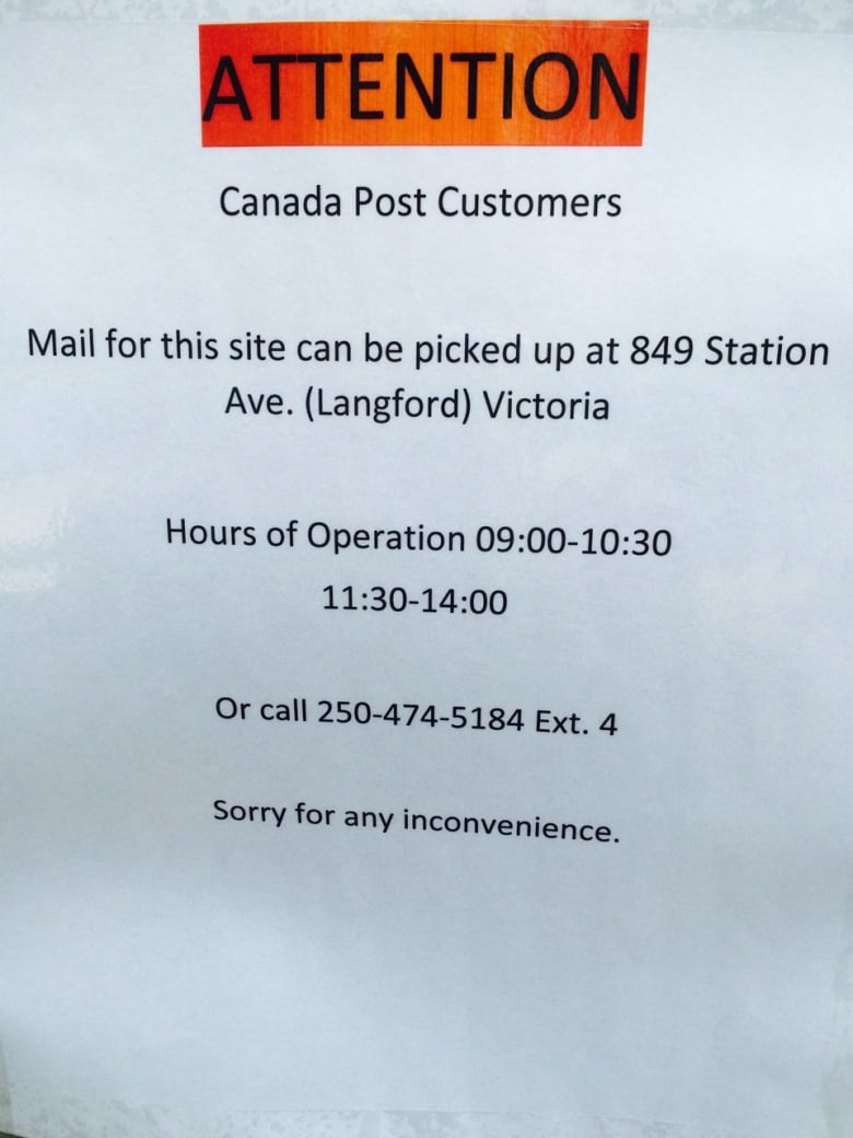 Canada Post superbox vandalized, unfixed for weeks in Langford, B.C. ...
