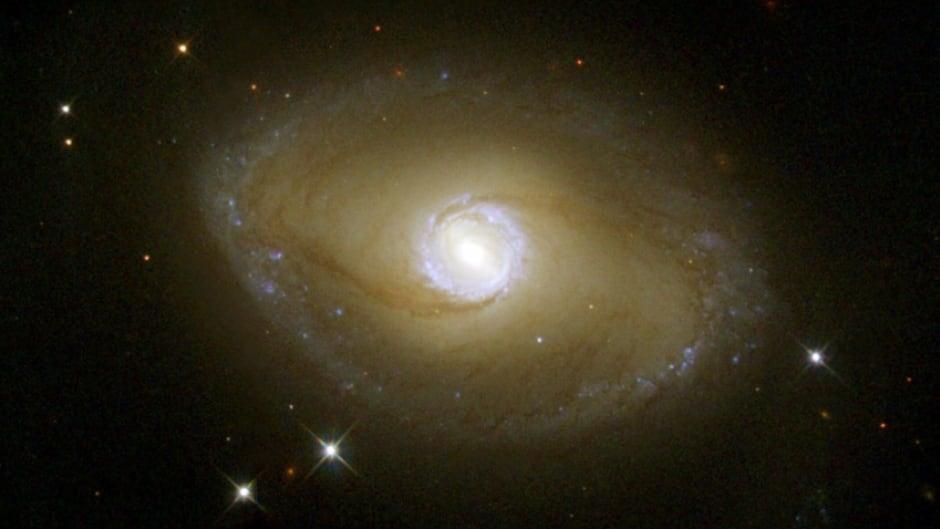 Spiral galaxy NGC 6782