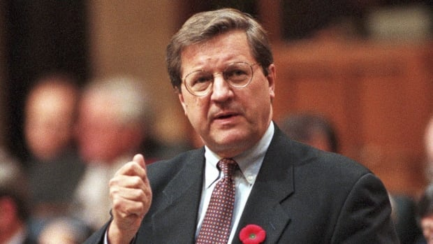 Lloyd Axworthy responds to a question during Question Period in the House of Commons in Ottawa, November 9, 1995. Canada should be at the forefront of an international push to de-militarize the Arctic and declare it a nuclear-free zone, one of the country's prominent foreign affairs ministers said Wednesday.
