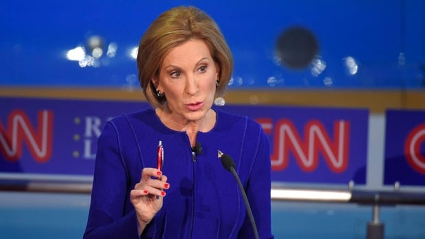 Businesswoman Carly Fiorina announced on Facebook Wednesday she is dropping out of the Republican presidential race.