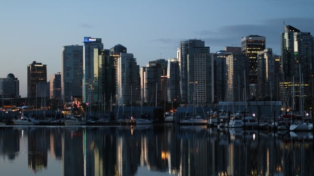 Vancouver's Coal Harbour is condo central.