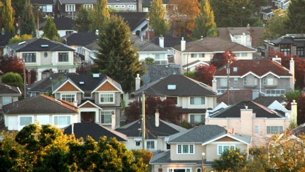 A neighbourhood full of single family homes near Vancouver's Queen Elizabeth Park.