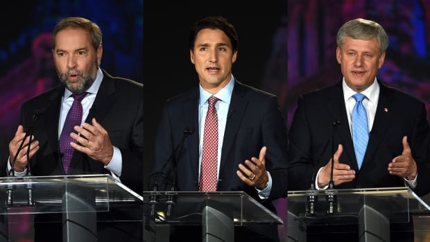 Conservative Leader Stephen Harper, NDP Leader Tom Mulcair and Liberal Leader Justin Trudeau spent much of Thursday's lively leaders' debate clamouring to present themselves as the best choice to manage the economy after Oct. 19. But five key storylines that emerged from Thursday's debate.