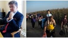 Croatia's ambassador to Canada / Refugees make their way to Croatia