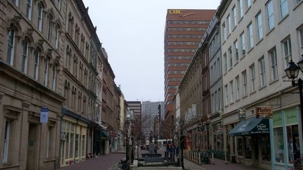 Granville Mall in Halifax