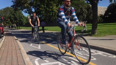 Cyclists can now use pedestrian signal instead of waiting for green light
