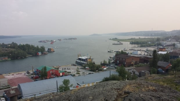 The water in Yellowknife Bay is safe, but a report comissioned by the City of Yellowknife recommends drinking water continue to be drawn from the Yellowknife River, rather than switching to bay water.