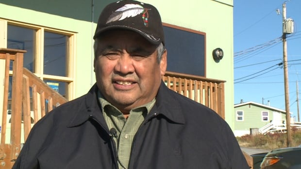Ed Sangris, the Yellowknives Dene Chief of Dettah, says  up to 100 of his band members may benefit from the class action lawsuit.