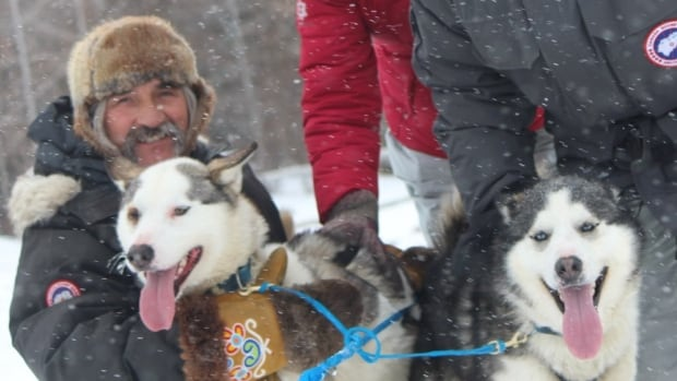Métis musher Gerald Azure and his wife Jenafor Azure will offer dog sled rides at the Asessippi Ski Area and Resort beginning in December.