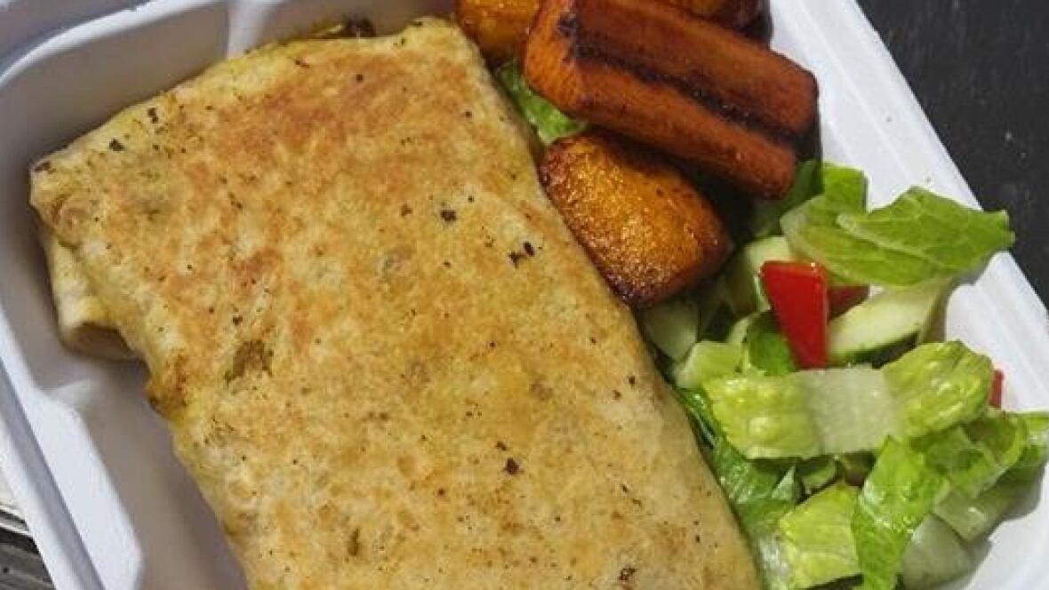 D Is For Dinner Caribbean Cruiser Food Trucks Chicken Roti Cbc News