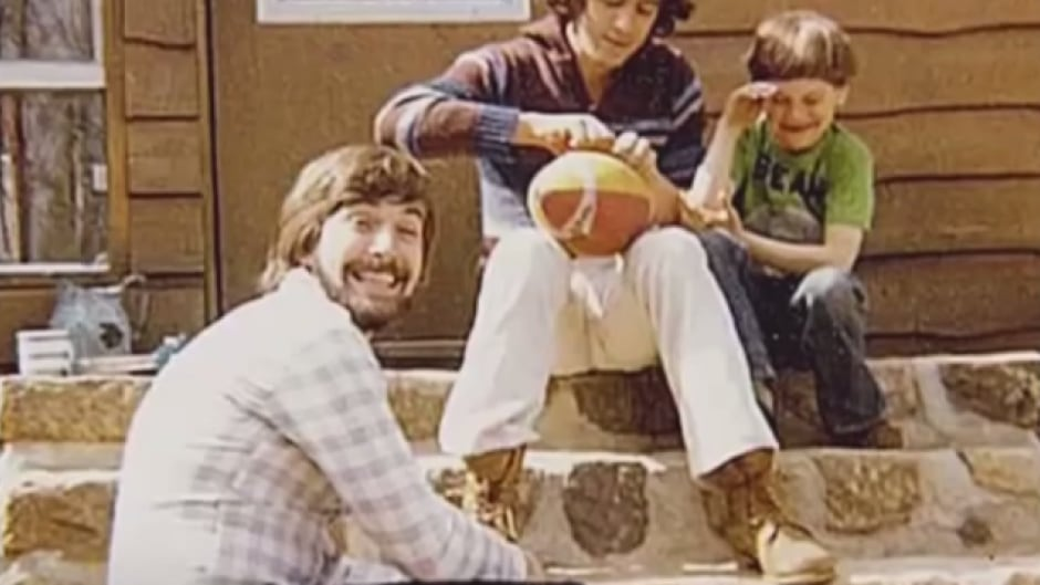 Tom Mulcair as a young man. (He's the one with the beard).