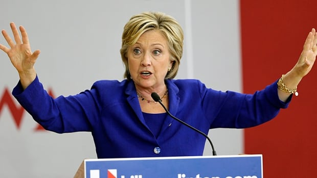 Democratic presidential candidate Hillary Clinton broke her long-standing silence over the construction of the Keystone XL pipeline, telling voters at a campaign stop in Iowa on Tuesday that she opposes the project, which has been assailed by environmentalists.