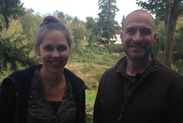 David Anderson and Christy Juteau