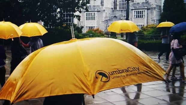 Opportunity meets initiative in the UBC launch of umbraCity umbrella sharing program.