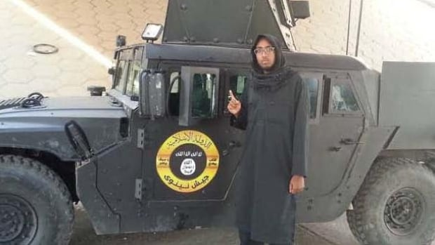 RCMP released this image of Farah Mohamed Shirdon in announcing numerous terrorism-related criminal charges against the former Calgary resident.