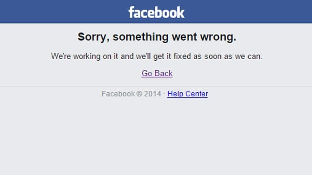 Annoyed outbursts and Photoshop jokes filled Twitter as Facebook users noticed that the world's most popular social networking site had gone down.