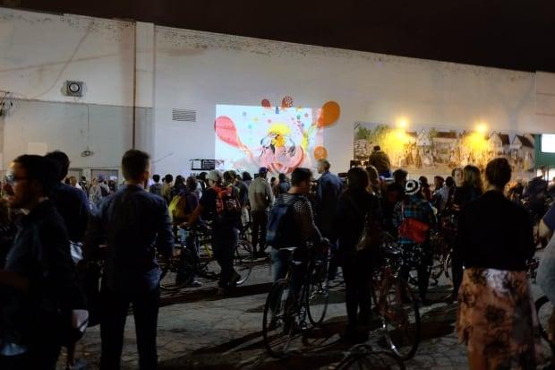 Bike Jam Nuit Blanche