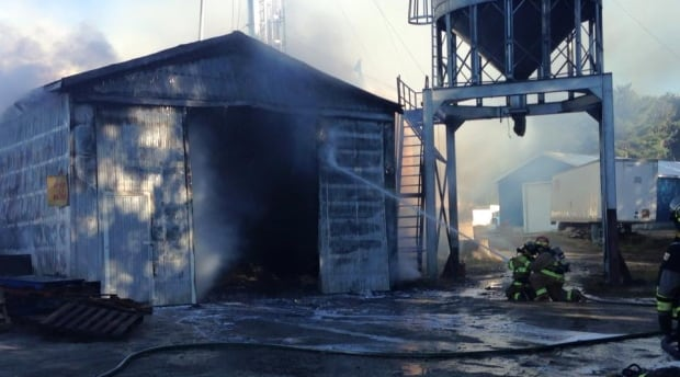 Cookville fire