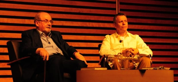 CBC's Brent Bambury & Salman Rushdie On-stage