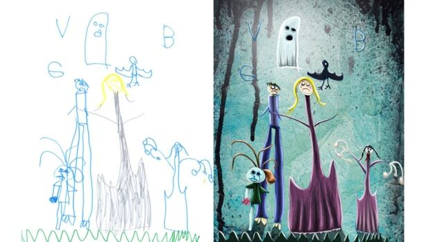 #FinishMyKidsArt: Let Crash Gallery artists put the final touches on your child's drawing